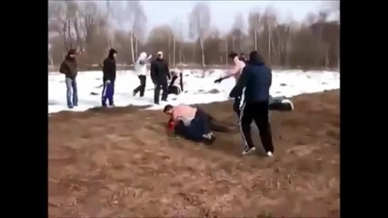 Brutal group - fight between russia and kavkaz