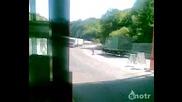 Луд камион!!! Шофьора бяга да го настигне!!!