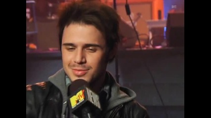 88 Mtv - Kris Allen On Being Grabbed By Fans In Asia