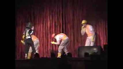 Beastie Boys Intergalactic Lip Sync