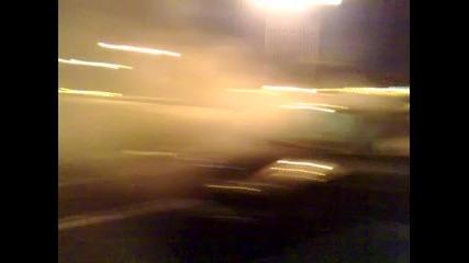Peugeot 206 Gti burnout