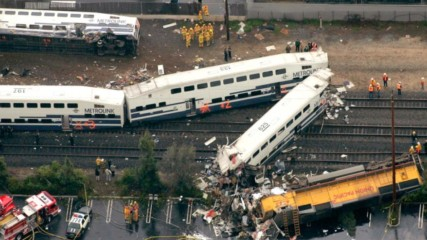 Влакови катастрофи, заснети на камера
