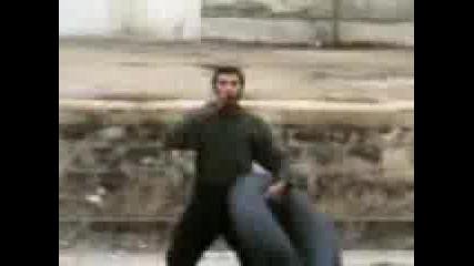 Човек - Стрела Бяга С Влака