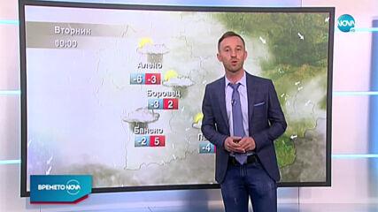 Прогноза за времето (09.03.2021 - обедна емисия)