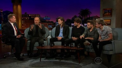 One Direction - Интервю в The Late Late Show