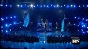 Ciara and Nicki Minaj on Bet Awards live - Im Out / Body Party