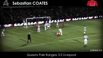 Топ 10 гола в Английската Висша Лига за сезон 2011/2012