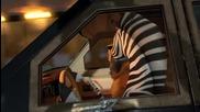 Мадагаскар 3 - Автомобилно преследване (откъс) :)