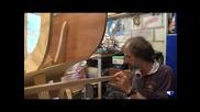 Пасване на летви. Дървена лодка част 5