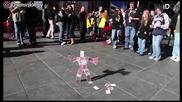 Страхотен уличен трик с карти