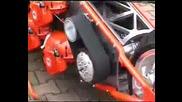 Харли с двигатели от резачка