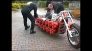 Мотор с 24 Двигателя от Резачки