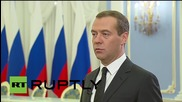 Russia: We are advocating our national interests in Syria - Medvedev