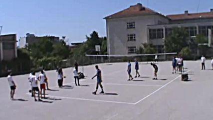 Демонстративна тренировка по волейбол-2017
