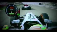 F1 Гран при на Бахрейн 2013 - onboard моменти от състезанието [hd]