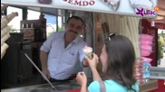 Веселият продавач на сладолед