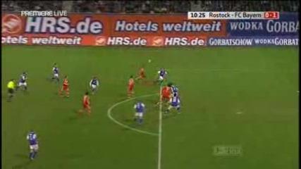 01.02 Hanza - Bayern 1:2 Ribery Goal