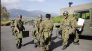Japan: Emergency services rush to aid earthquake victims in Kumamoto