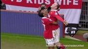 Мненията на Видич и Евра за гола на Руни срещу Манчестър Сити / 2011