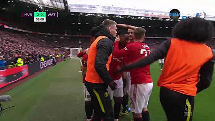 Изумителен гол на Марсиал за 2:0 срещу Уотфорд