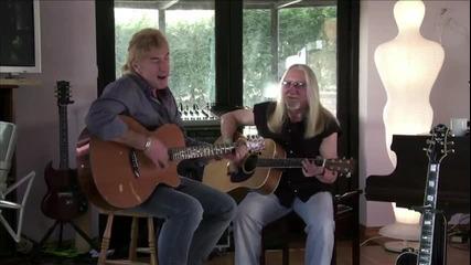 John Lawton & Mick Box singing Miramar Blues Farm