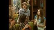 Hsm в Hannah Montana 2 [cqlata scena s Hsm & Hn] + Bg sub