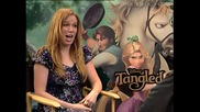 Tangled Interview Mandy Moore and Zachary Levi