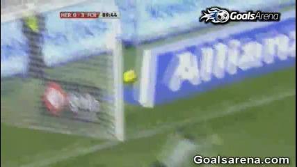 Еркулес 0 - 3 Барселона [29.01.2011] ( Всички голове )