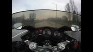 Хонда cbr 1100 xx super blackbird бул. България 23.11.2010