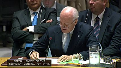 UN: Catastrophe averted in Idlib as Russian-Turkish deal implemented - De Mistura