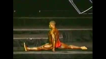 Dancing With Big Stars - Bodybuilding