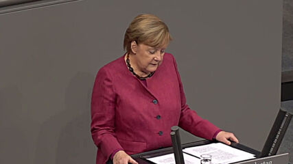 Germany: Parliament President Schauble steps in after Merkel heckled in Bundestag
