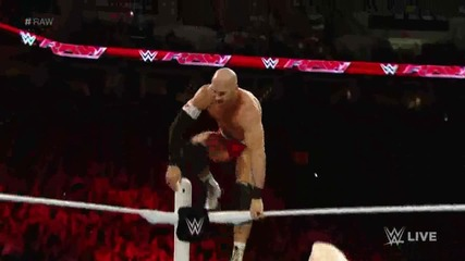 Randy Orton & Cesaro vs Kevin Owens & Sheamus: Wwe Първична сила 17.08.2015