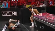 Wwe Raw 22.08.11 John Cena vs Cm Punk For The No. 1 Contender For The Wwe Championship