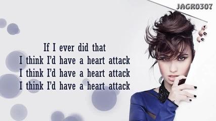 Demi Lovato - Heart Attack (превод)