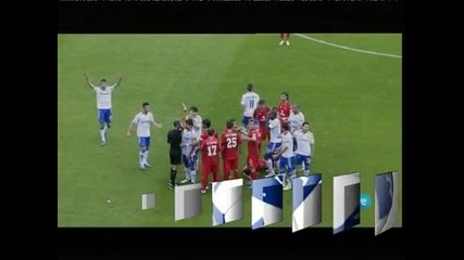 """Сарагоса"" – ""Хетафе"" 0:1, три червени картона и спорна дузпа оцветиха мача"