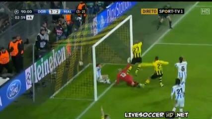Borussia Dortmund vs Malaga (3-2) 09.04.2013 Hd