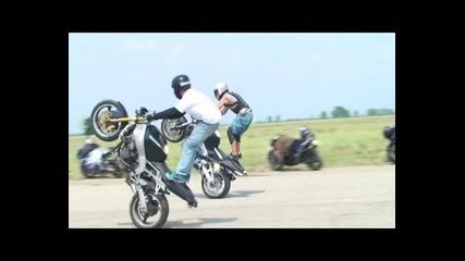 Stunt среща в гр.раковски 09