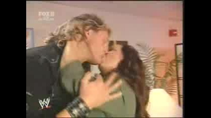 Edge Kisses Vicky Guerrero - Smackdown