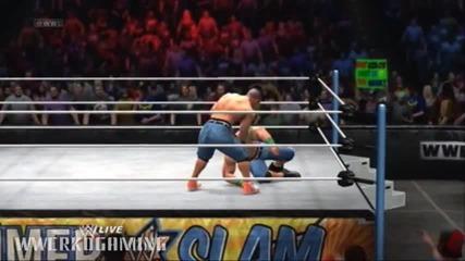 W W E 13' - Face John Cena vs. Heel John Cena.