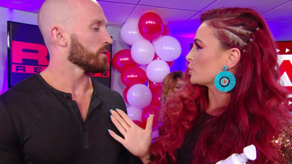 Eric Bischoff and Eve Torres attempt to give advice to Maria: Raw Reunion, July 22, 2019