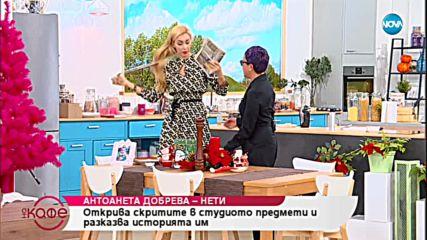 """""""На кафе"""" с Антоанета Добрева - Нети (14.12.2018)"""
