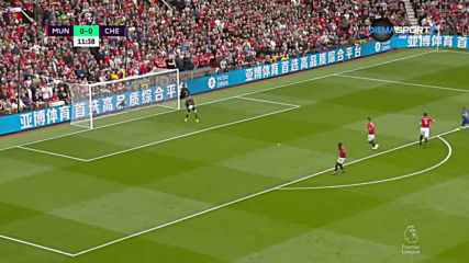 Манчестър Юнайтед - Челси 1:0 /първо полувреме/
