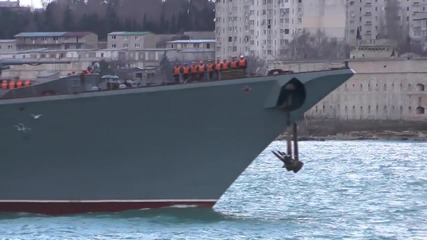 Russia: Missile cruiser 'Moskva' returns to Sevastopol after Syria mission