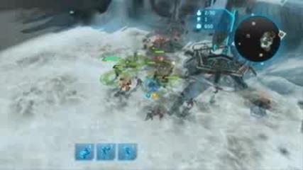 Halo Wars Demo: Unsc skirmish 1/4
