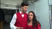 Dancing Stars - Мариан и Михаела след финала 27.03.2014 г.