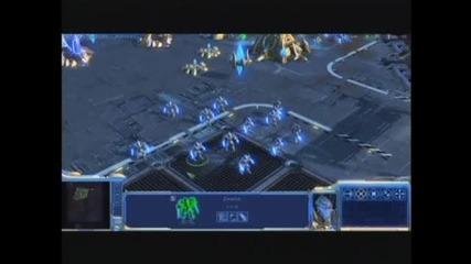 Starcraft 2 - Zealot Gameplay