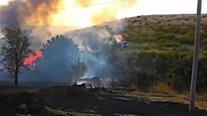 Пожар край Банево 5
