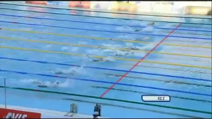 Michael Phelps - 100m Butterfly Roma 2009 Final (hq)