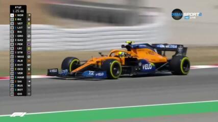 Хамилтън най-бърз във втората тренировка в Испания
